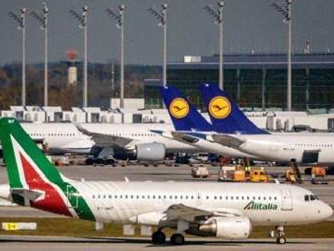 Lufthansa ha inviato al governo una proposta di partnership commerciale con Alitalia