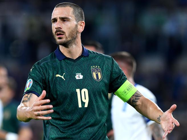 Italia, Bonucci e la svolta con Mancini: