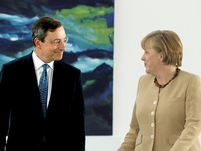 Bce, l'addio di Draghi