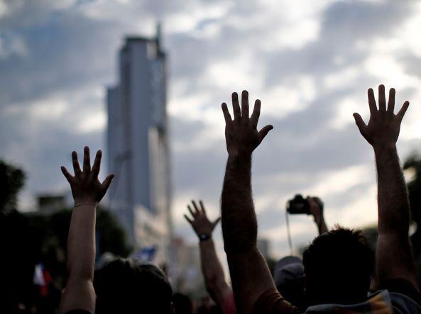 Cile: oltre un milione in piazza