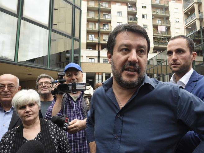 ROMA Salvini: