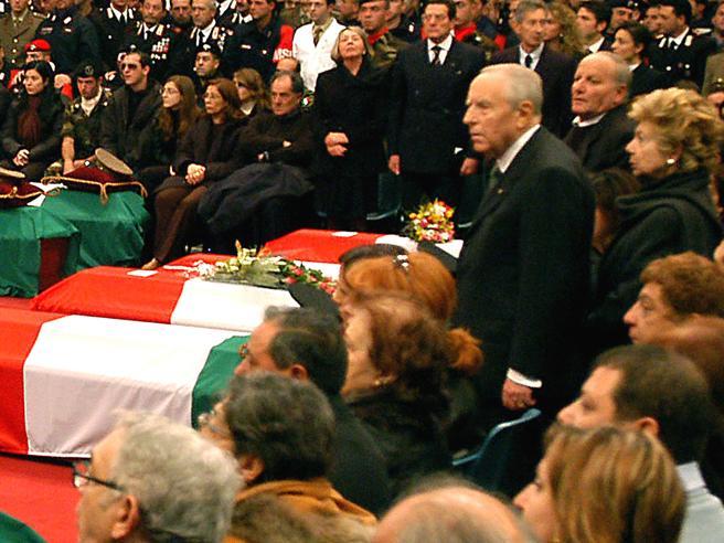 Avola, cerimonia in ricordo del brig. Coletta, vittima dell'attentato di Nassiriya