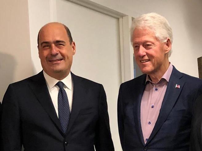 New York: Zingaretti vede Clinton, battaglia comune contro le destre