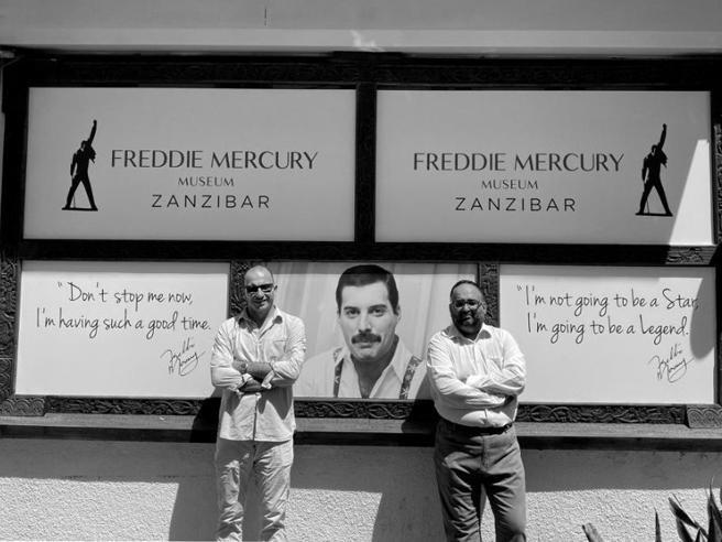 L'imperiese Boero fonda a Zanzibar il primo museo dedicato a Freddie Mercury