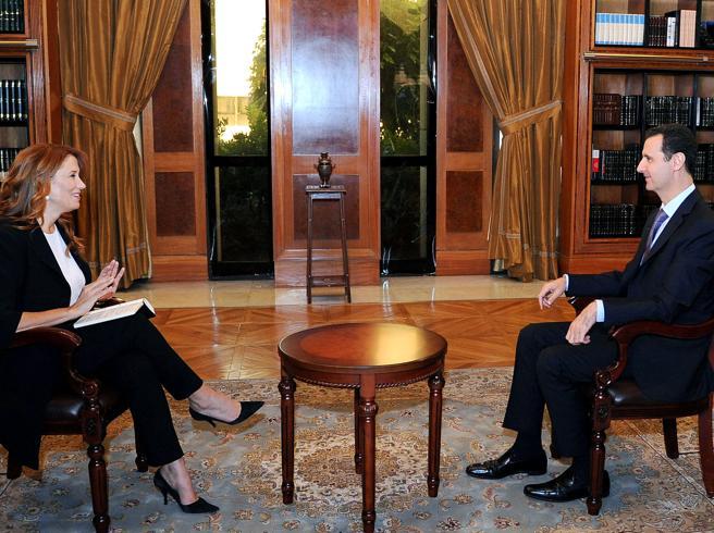 Il caso dell'intervista ad Assad che la Rai non ha trasmesso