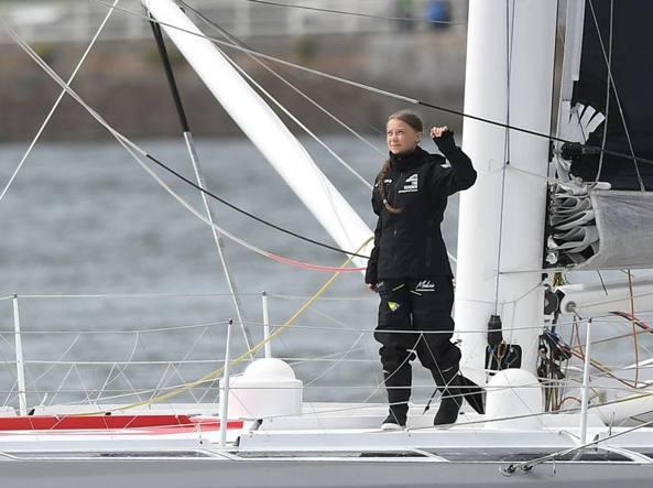 Clima: Greta, le emergenze stanno già colpendo