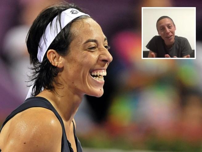 Tennis, Schiavone shock: