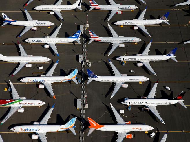 Boeing: da gennaio stop alla produzione del 737 Max