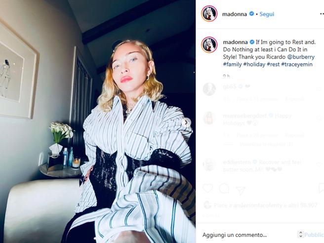 Musica: dolore indescrivibile, Madonna ferma il tour