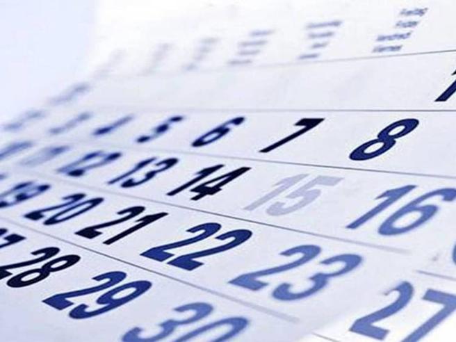 Il calendario scolastico, ecco i ponti del 2020