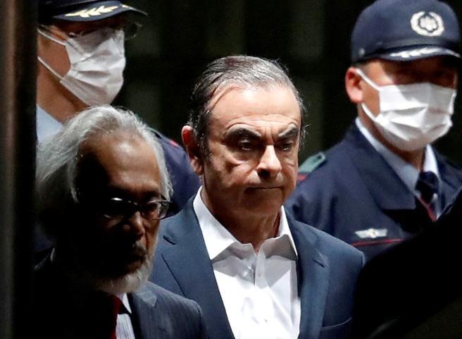 Ghosn fugge dal Giappone in Libano
