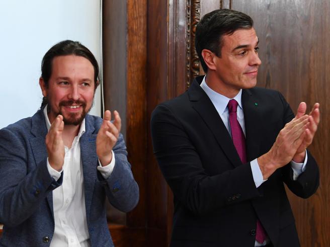 Spagna: l'astensione di Erc dà il via libera al governo Sanchez