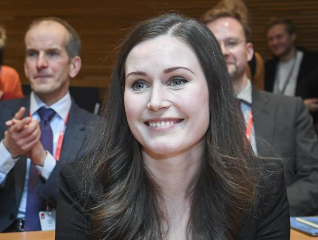 Finlandia, premier Sanna Marin propone settimana corta