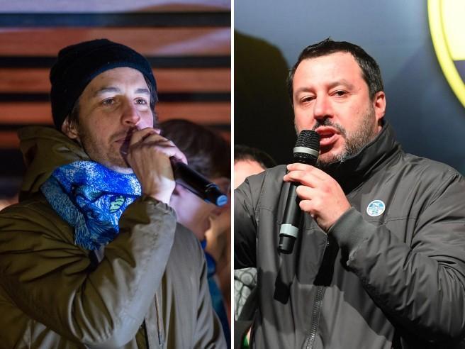 Palermo, Salvini annulla il suo comizio a causa delle proteste dei contestatori