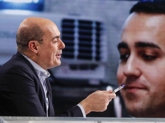 Zingaretti  a Di Maio: «Movimento in  piazza? Un errore, guardare avanti»