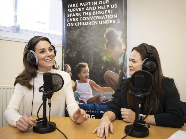Kate Middleton sulla maternità: