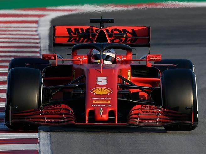 Resoconto Ferrari: L'ultimo giorno di test per Vettel