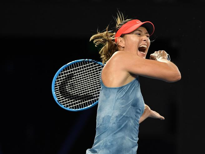 L'addio al tennis di Maria Sharapova