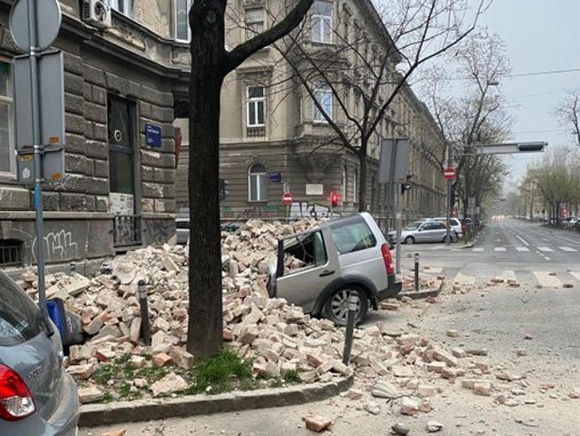 Terremoto in Croazia, due scosse di magnitudo 5.4 e 4.6 a Zagabria