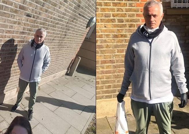 Coronavirus:Mourinho 'in campo' per aiutare anziani a Londra