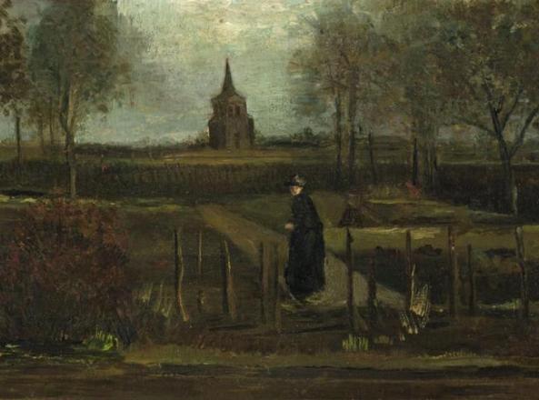 Quadro di van Gogh rubato da un museo in Olanda