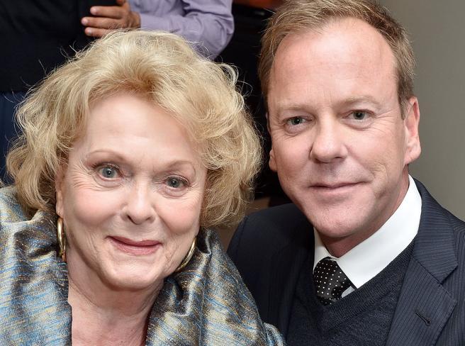 Morta l'attrice canadese Shirley Douglas, madre di Kiefer Sutherland