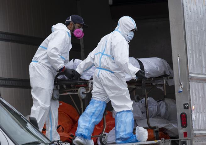 Dall'odore nauseante: scoperti decine di cadaveri all'interno di due camion
