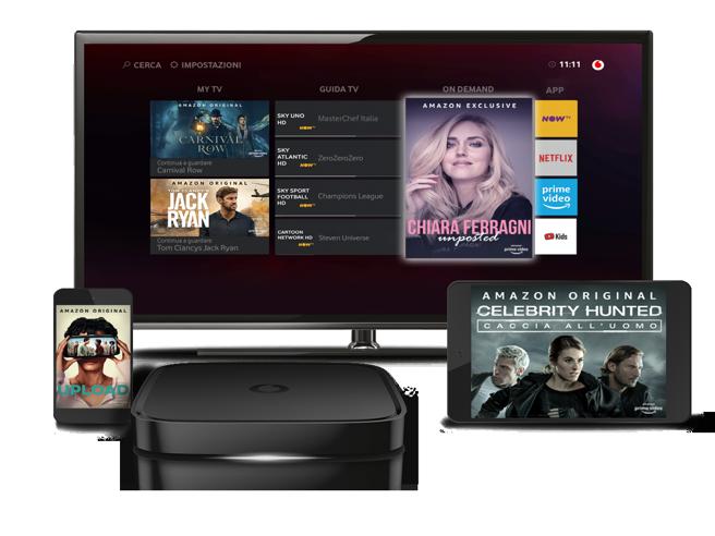 Vodafone regala sei mesi di Amazon Prime: i dettagli dell'offerta