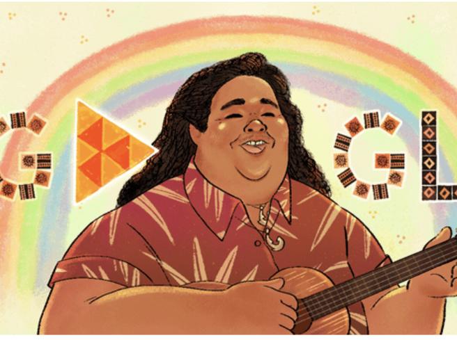 Israel Kamakawiwo'ole, Israel Iz, nel doodle di Google