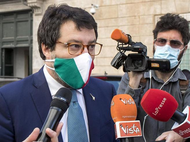 Salvini a Mattarella: