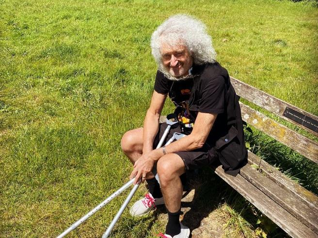 Brian May ha avuto un infarto: