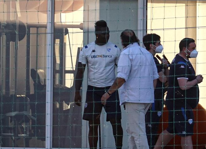 Cellino furibondo, Mario Balotelli ai ferri corti con il Brescia