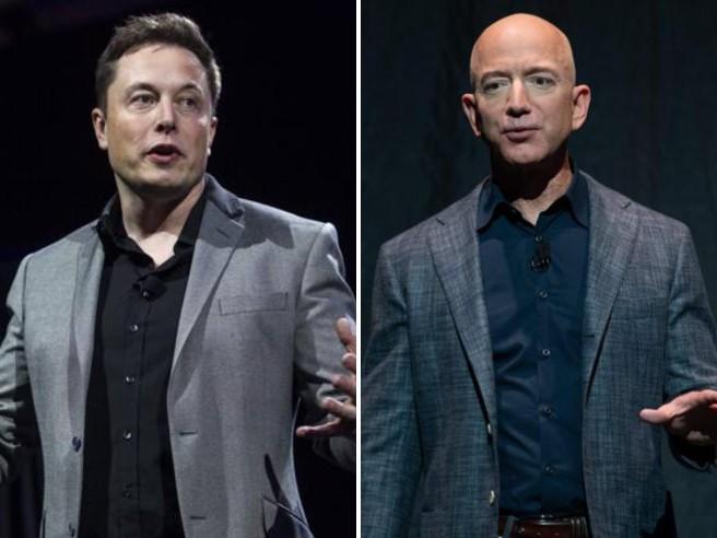 Elon Musk contro Amazon: il motivo delle critiche e l'attacco a Bezos