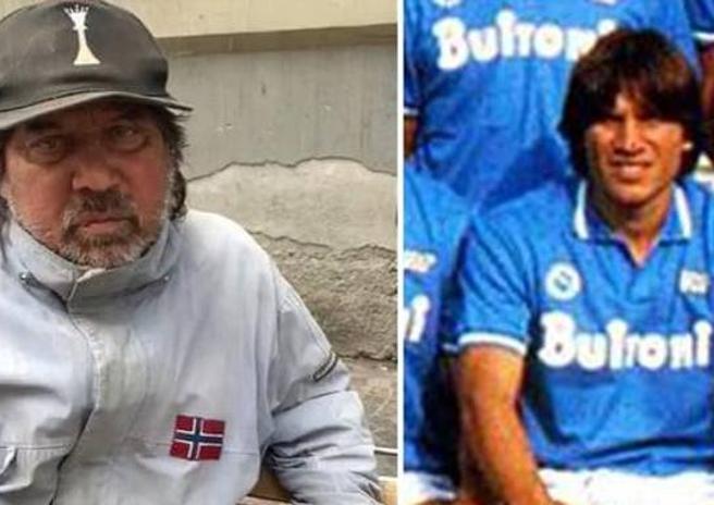 Pietro Puzone giocava nel Napoli di Maradona. Ora è un senzatetto
