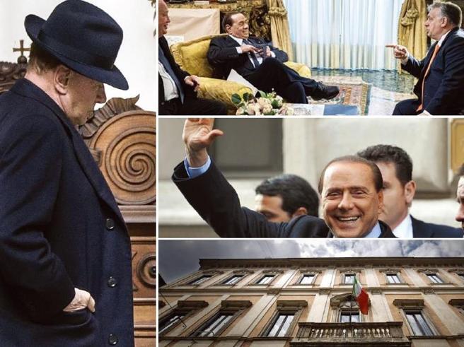 L'addio di Berlusconi a Palazzo Grazioli, incubo di Fini e dimora storica della Seconda Repubblica
