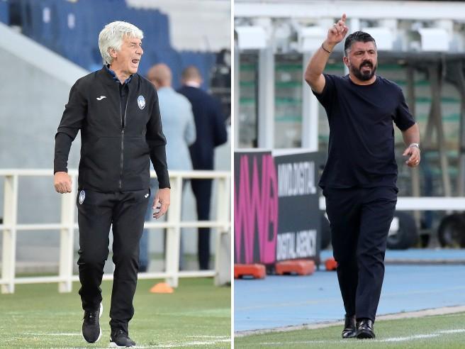 Gasperini-Gattuso, Atalanta-Napoli: il calcio senza etichette