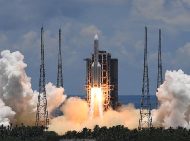 Cina 'all'assalto' di Marte, lanciata sonda Tianwen