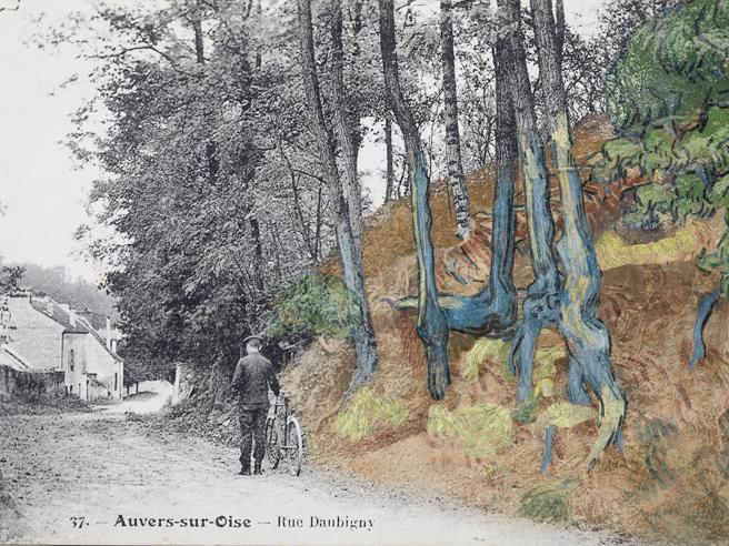 Van Gogh, un'antica cartolina svela il luogo esatto dove dipinse l'ultima opera