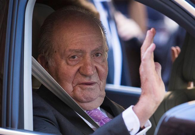 Juan Carlos ad Abu Dhabi secondo i media
