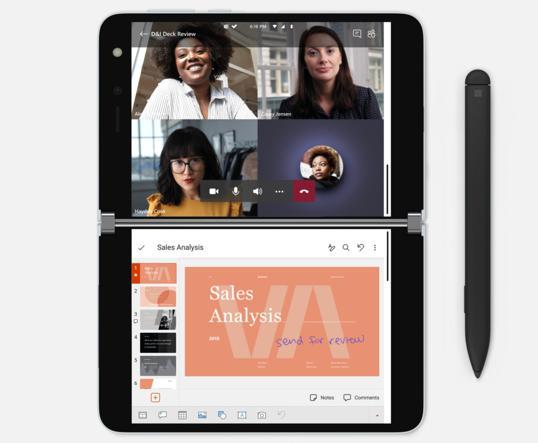 Microsoft reinventa smartphone e Pc, nasce il nuovo Surface Duo