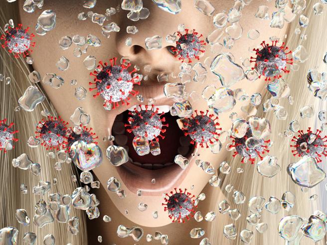 Coronavirus, goccioline infettive sospese nell'aria: il nuovo studio
