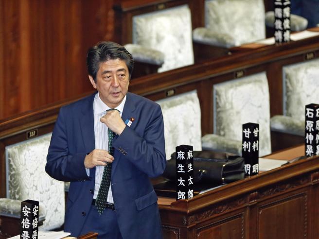 Il premier giapponese Shinzo Abe sta per dimettersi
