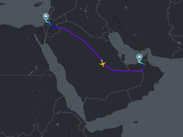 Decollato il primo volo commerciale tra Israele ed Emirati Arabi Uniti