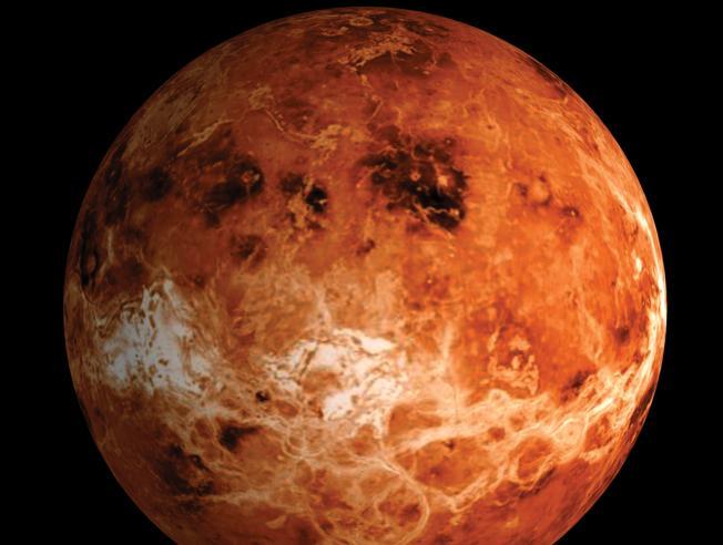 Venere, fosfina nell'atmosfera: possibili forme di vita