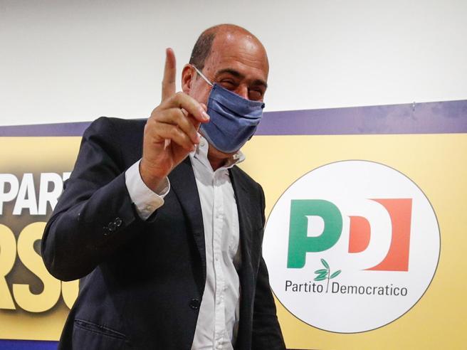 Elezioni 2020, Zingaretti: il premier adesso pedali. E da governatore spinge per il Mes