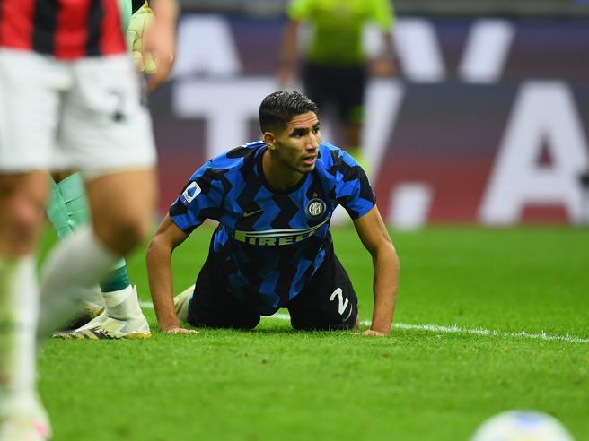 Inter, comunicato ufficiale: Hakimi positivo al Covid-19