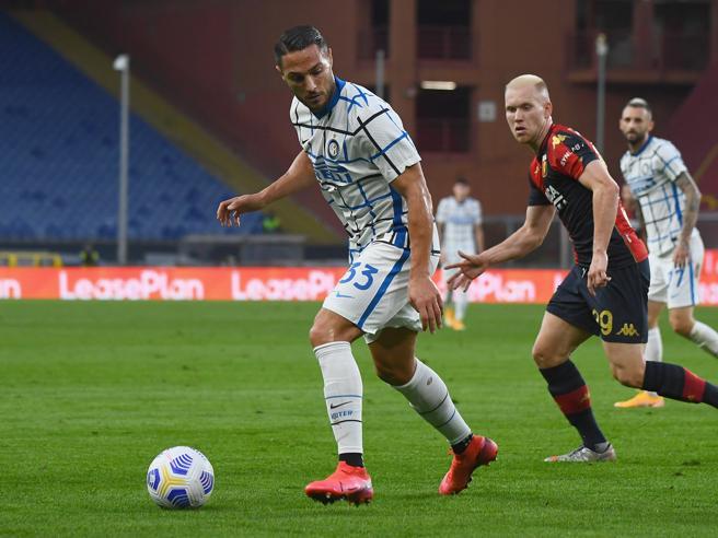 Genoa-Inter 0-2 pagelle: D'Ambrosio cerniera, Eriksen non sboccia; Rovella cresce bene