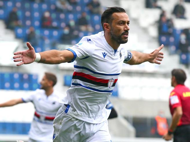 Serie A: tonfo Atalanta, la Sampdoria passa a Bergamo (1-3)