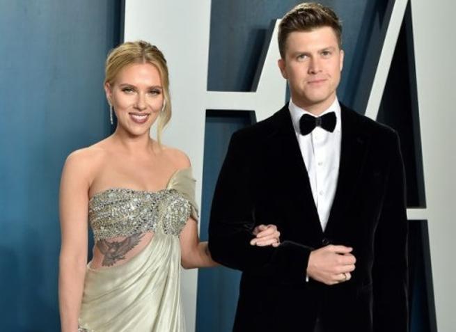 Terzo Sì per Scarlett Johansson, nozze con Colin Jost