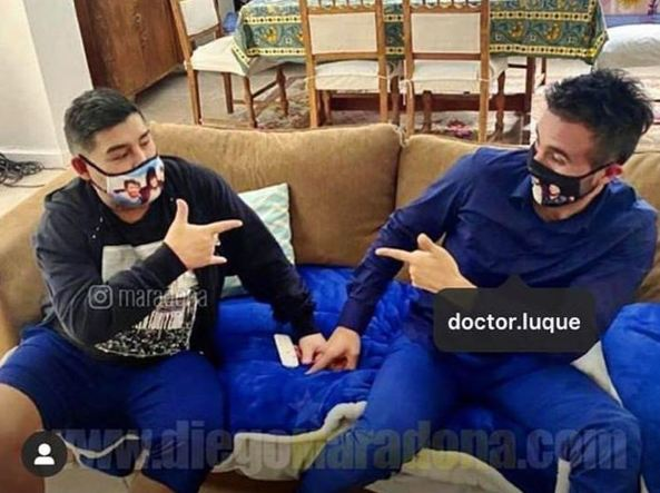Maradona, indagato il medico Leopoldo Luque: ipotesi di omicidio colposo